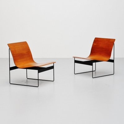 Günter Renkel for Rego lounge chairs, Germany 1959