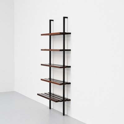 Martin Visser custom made bookcase by 't Spectrum Holland, 1965