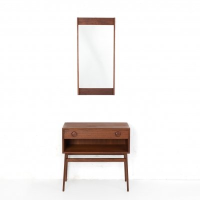 Small cabinet with mirror, 1960s