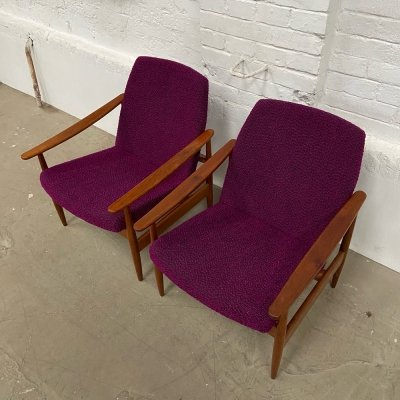 Pair of Lumberjack Armchairs by Drevotvar, 1960s