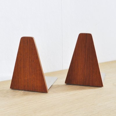 Scandinavian Modern Bookends, 1960s