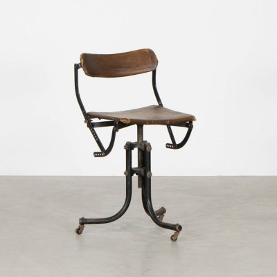 Doe meer stoel office chair by Tan Sad, 1920s