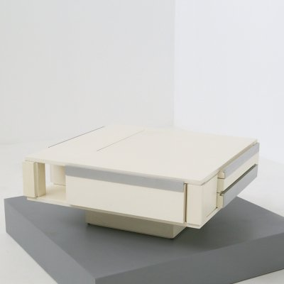Square 'Design Collection' Coffee Table by Cesare Augusto Nava