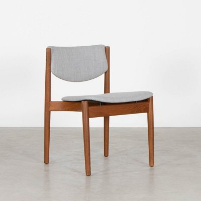 2 x Model 197 dining chair by Finn Juhl for France & Son, 1960s