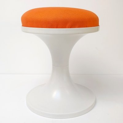 Space Age Design Plastic Stool, 1970s