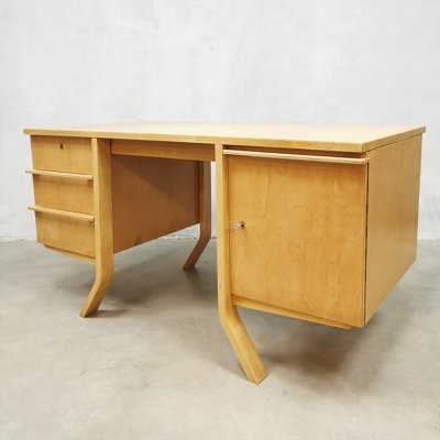 Midcentury EB04 writing desk by Cees Braakman for Pastoe, 1950s