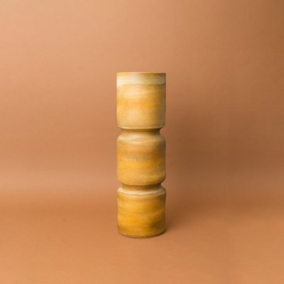 Extra large glazed earthenware vase by Suzanne Ramié for Madoura