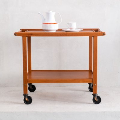 Mid Century service trolley by Staples & Co. LTD., 1960s