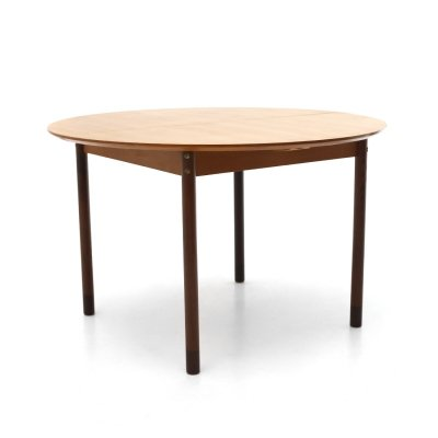 Table with extendable round top by Faram, 1960's