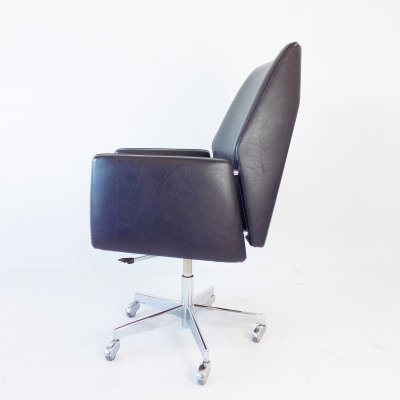 Mauser office armchair in black, 1960s