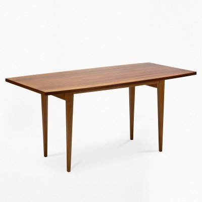 Coffee table with a mahogany top, 1970s