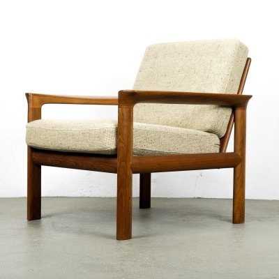 Danish Teak Lounge Chair by Sven Ellekaer for Komfort, 1960s