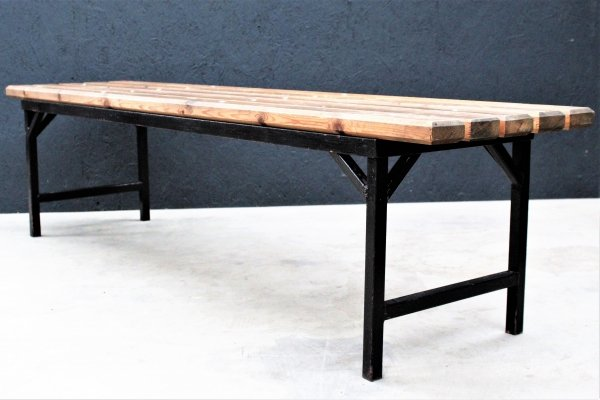 Old Industrial dressing room Bench