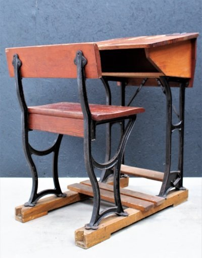 Old school writing desk by Kooymans Wijchen, 1940s