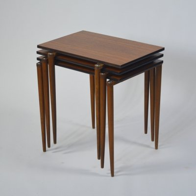 Modular sidetables by Opal Möbel