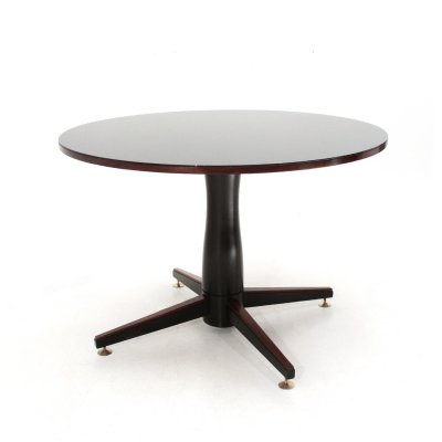 Round table with central leg, 1950's