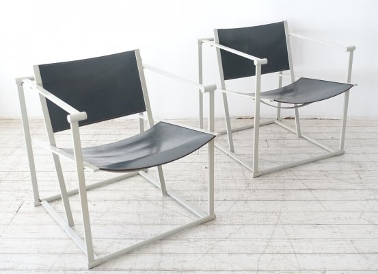 FM62 Cube easy chair by Radboud van Beekum for Pastoe, 1980s