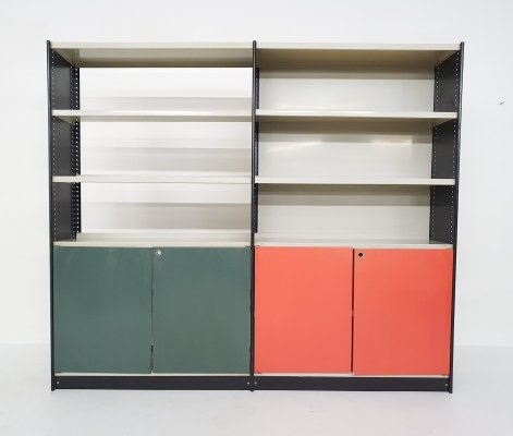 Metal 'Stabilux' book case by Friso Kramer, 1960s
