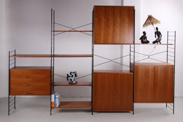 Vintage wall unit by WHB, Germany 1960s