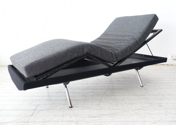 Rare & fully adjustable 'Triennale' daybed by Marco Zanuso for Mobili Pizzetti, 1950s
