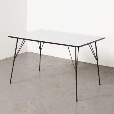 Minimalist Dining Table by Rudolf Wolf for Elsrijk, 1950s