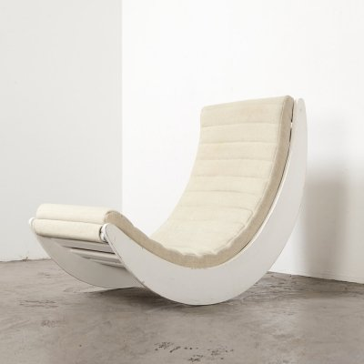Verner Panton Relaxer 2 Rocking Chair for Rosenthal, 1974