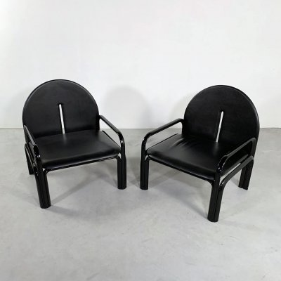 Set of 2 '54 L' Armchairs by Gae Aulenti for Knoll, 1970s