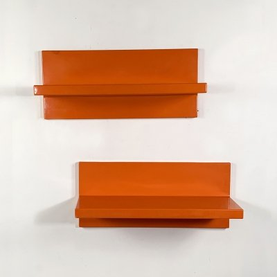 Set of 2 Wall Shelves by Marcello Siard for Kartell, 1970s