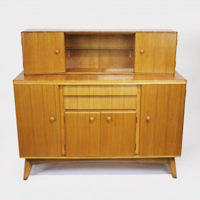 Vintage Mid-Century Walnut Sideboard/Highboard by Nathan, 1960s