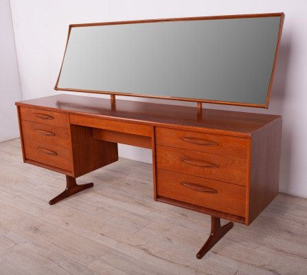 Mid Century British Dressing Table, 1960s