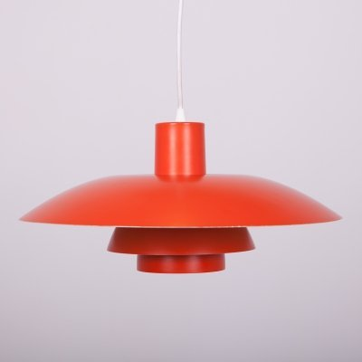 Danish PH4 Pendant Lamp by Poul Henningsen for Louis Poulsen, 1960s