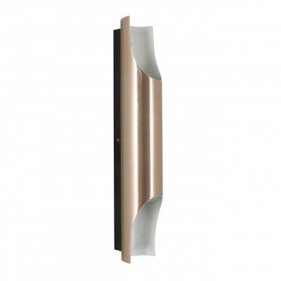 Brushed aluminium Fuga wall light by Maija Liisa Komulainen for Raak Amsterdam, 1970s
