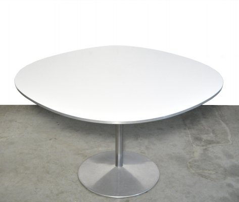 'Supercircular' Dining table by Piet Hein & Bruno Mathsson for Fritz Hansen, 1970s