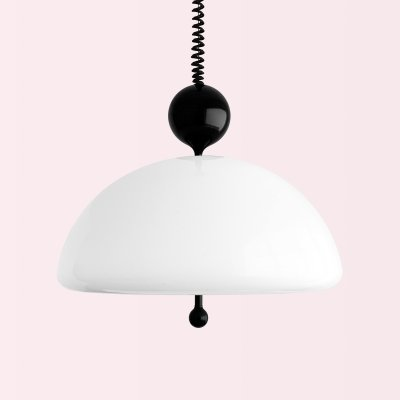 Saliscendi hanging lamp by Elio Martinelli for Martinelli Luce, 1960s