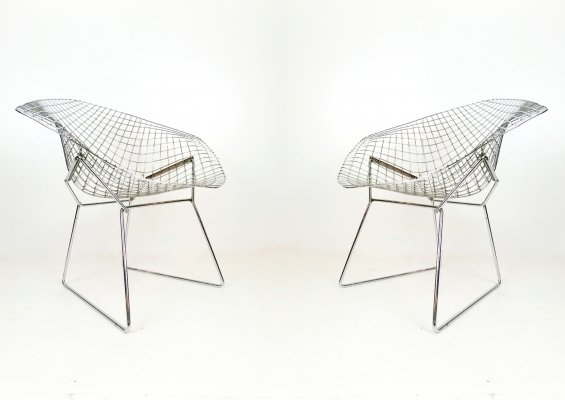 Diamond chair by Bertoia for Knoll - De Coene, 1950s