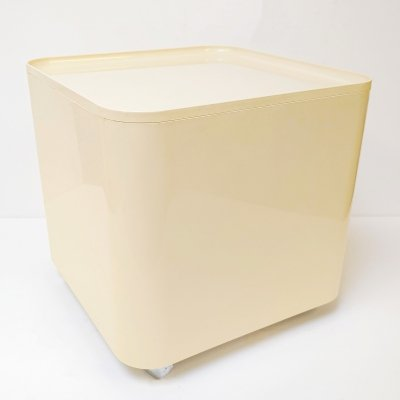 Vintage Space Age Longato 'Dime' Table Container by Marcello Siard, 1970