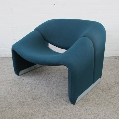 Groovy M-chair lounge chair by Pierre Paulin for Artifort, 1990s