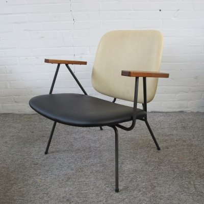 Vintage lounge armchair by W.H. Gispen for Kembo, 1960s
