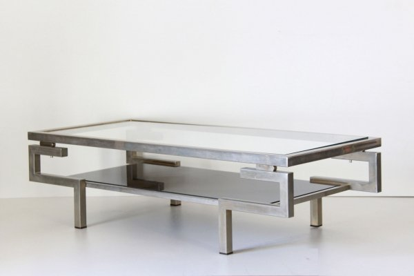 1970s space age vintage sofa table