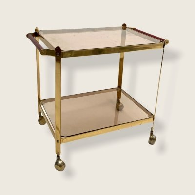 Vintage serving trolley, 1960s
