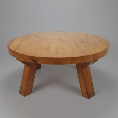 Mid Century Modernist Oak Coffee Table, 1960s