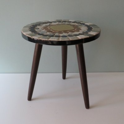Plant table with mosaic top, 1960-1970