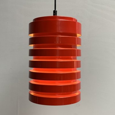 Model T-487 pendant light by Hans-Agne Jakobsson for AB Markaryd, Sweden 1960s
