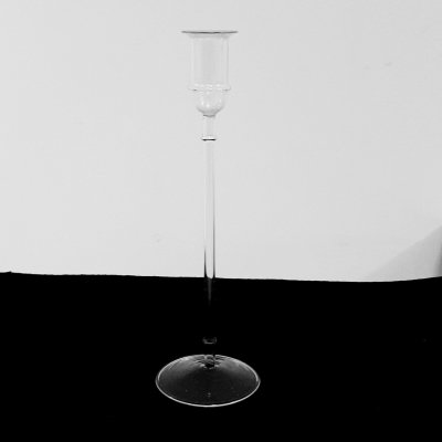Glass candleholder by Ming Hou Chen for Yumi, 1970s