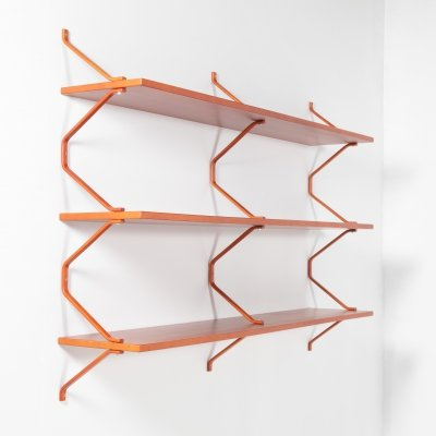 Swedish wall shelving system, 1990s