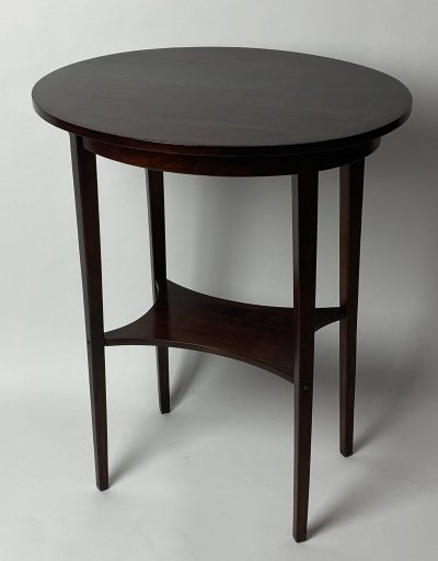 Oval side table no.266 by Thonet, 1930s