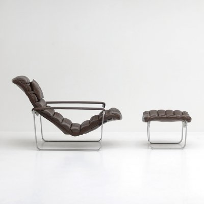 Lounge chair by Ilmari Lappalainen for Asko, 1960s
