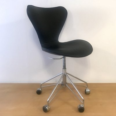 Series 7 office chair by Arne Jacobsen for Fritz Hansen, 1980s