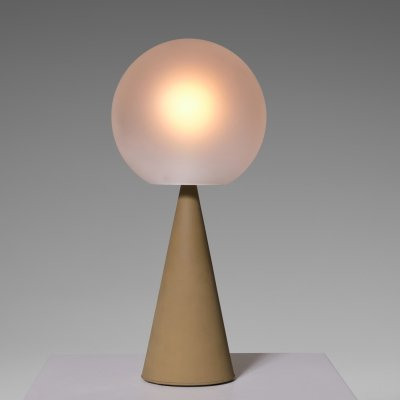 Gio Ponti 'Bilia' table lamp model no. 2474 for Fontana Arte