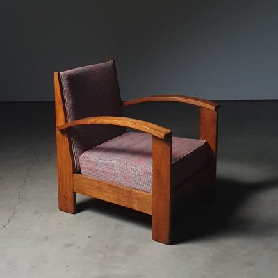 1930s Rationalist arm chair